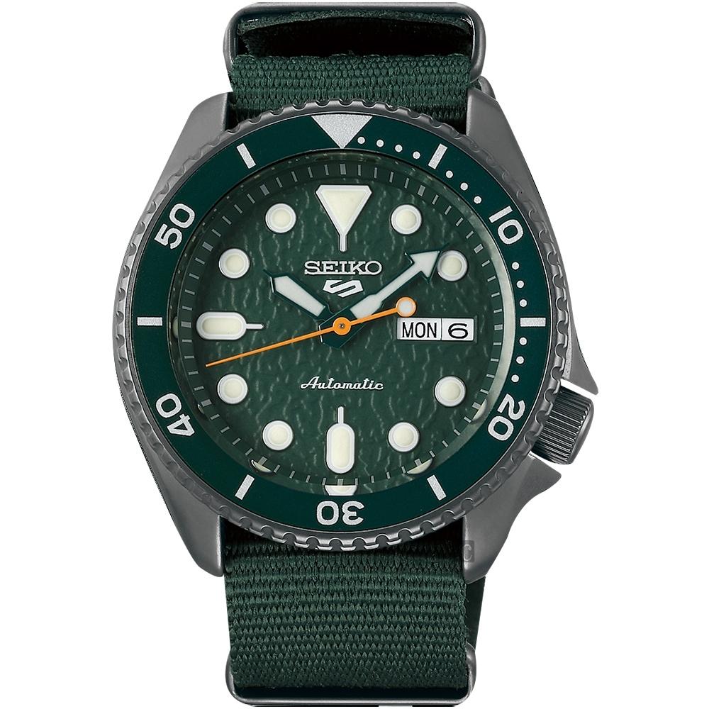 SEIKO 精工 5 Sports 系列機械錶(SRPD77K1)-42.5mm
