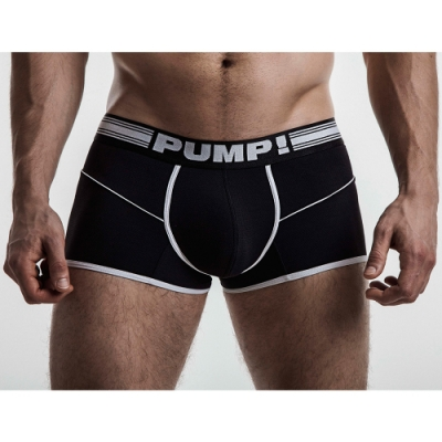 PUMP!黑色自由運動員四角內褲