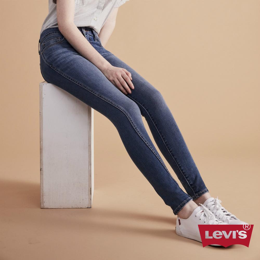 Levis 女款 310 中腰超緊身塑形窄管超彈力牛仔褲 專利縮腹修身設計