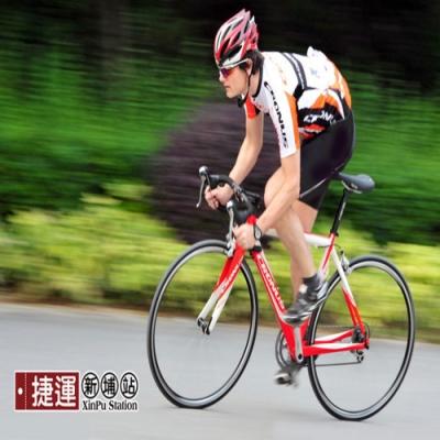 3D自行單車萊卡三鐵短車褲.3D剪裁萊卡材質透氣舒適貼合加厚坐墊襯吸濕排汗鐵人三項車褲