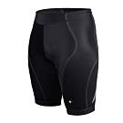 SOOMOM 男鐵人三項專用短褲-慢跑 路跑 單車 自行車 三鐵褲 反光 透氣 黑