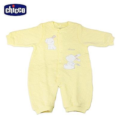 chicco-夾棉妙妙裝-黃(3-12個月)