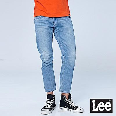 Lee 721低腰合身小直筒牛仔褲/UR-水洗藍