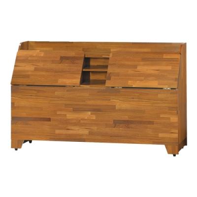 綠活居 艾普可時尚5尺雙人床頭箱-151.5x29.5x90cm免組