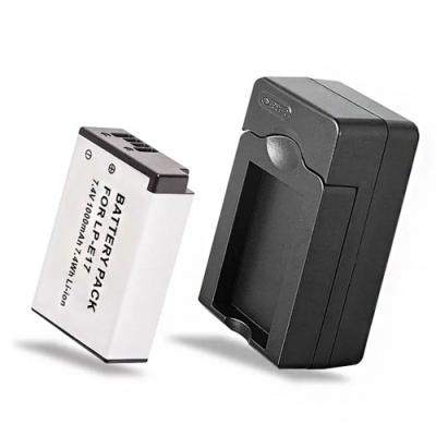 Kamera佳美能 for Canon LP-E17 電池充電組