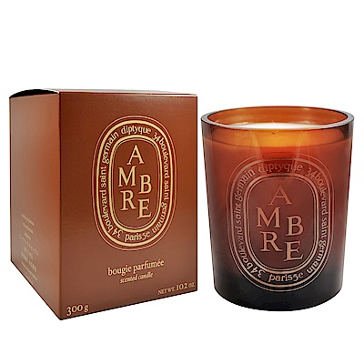 Diptyque 限量彩色版 橘色琥珀 香氛蠟燭 300g Candle Amber