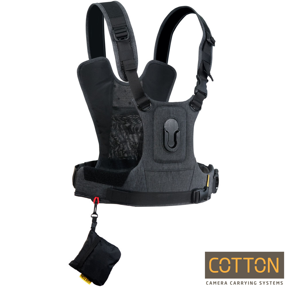 Cotton Carrier CCS G3 快取攝影背心-HARNESS-單機(灰)
