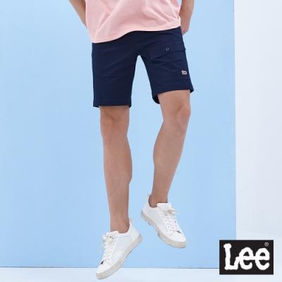 Lee 902 Logo大口袋 休閒短褲  男款 深藍色