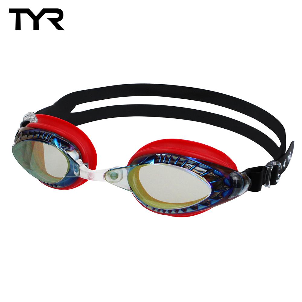 美國TYR 競速用電鍍泳鏡 Powerflow Metalli