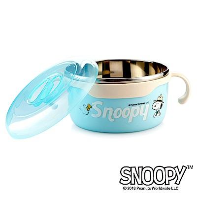 史努比SNOOPY 清漾童樂#304不鏽鋼隔熱碗620ml
