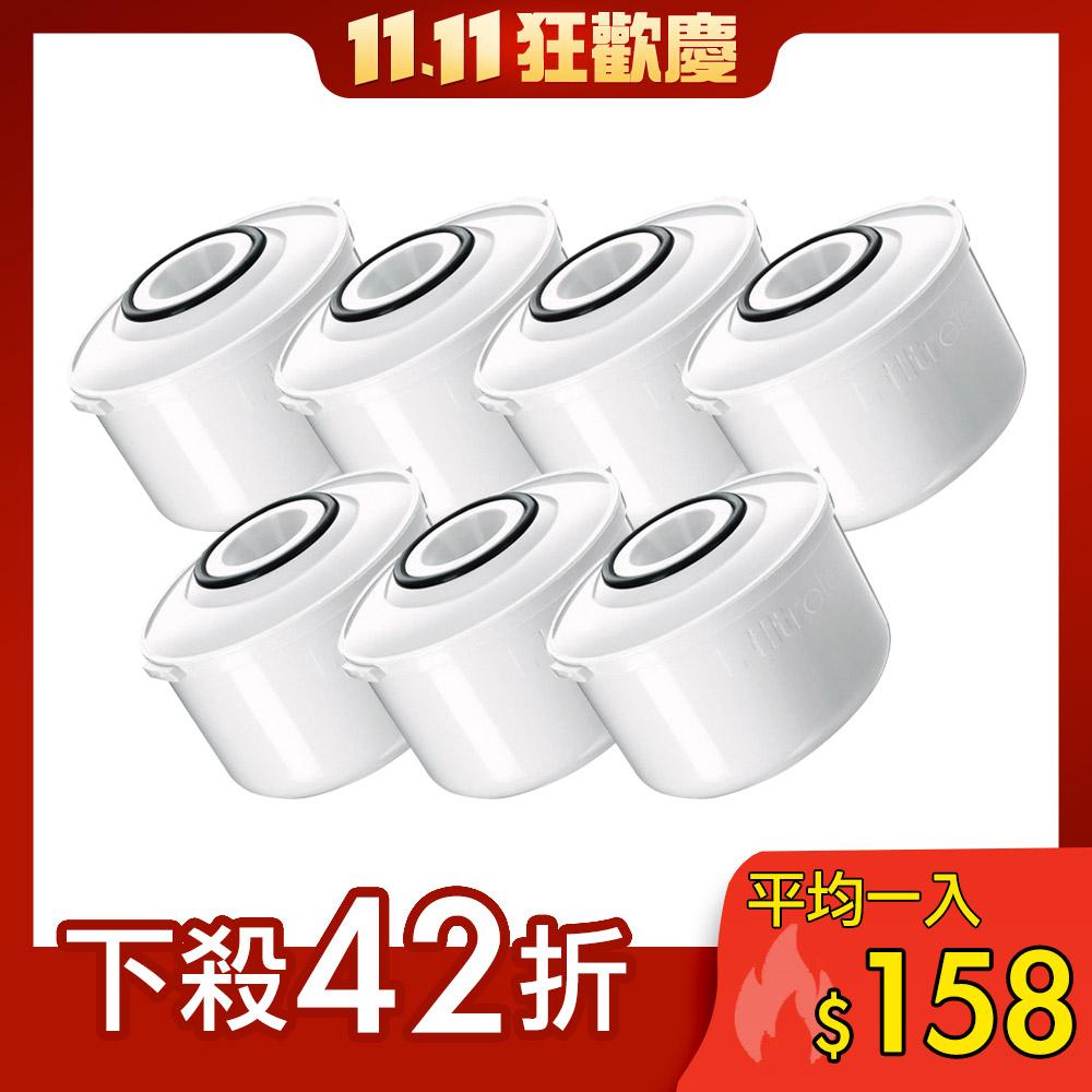 [獨家7入組合] 3M即淨長效濾水壺專用濾心4入+3入濾心贈品
