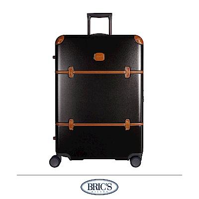 BRICS 義大利經典款 30吋 防潑水拉鍊箱 橄欖綠 飛機輪