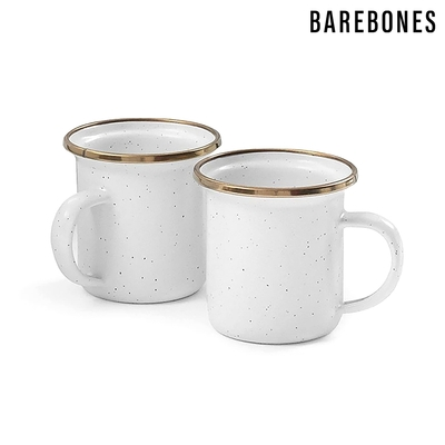 【Barebones】迷你琺瑯杯組 CKW-394 / 蛋殼白