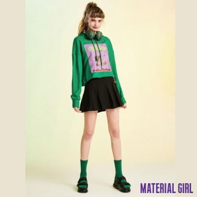 MATERIAL GIRL 高腰A字星球短裙 (附吊飾)-【91309】