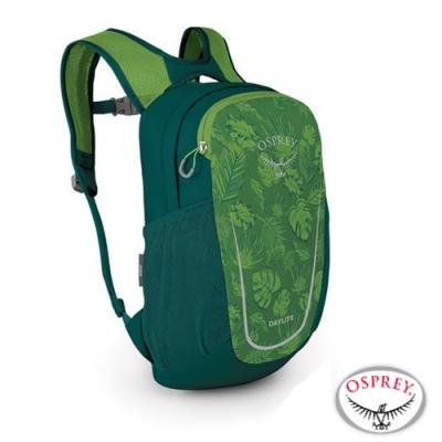 OSPREY Daylite Kid 10L 輕量護體減震透氣兒童背包/書包_葉片綠 R