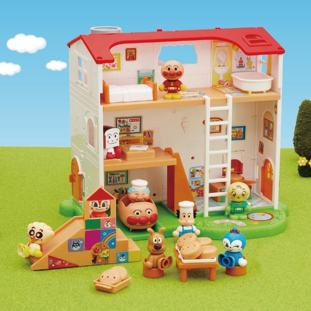 ANPANMAN 麵包超人-麵包小鎮!盡情玩樂麵包工廠(3歲- /小房子/扮家家酒)