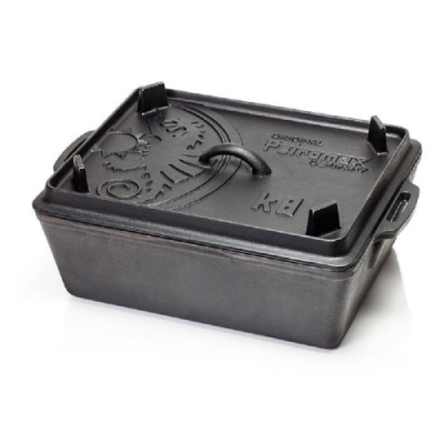 Petromax K8 Loaf Pan 鑄鐵方形荷蘭鍋 5.5L 通過德國食品安全認證(LFGB)