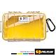 美國 PELICAN 1050 Micro Case 微型防水氣密箱-透明(黃) product thumbnail 1