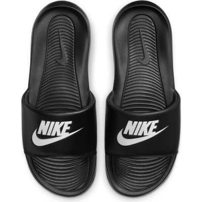 NIKE 拖鞋 運動 防水 舒適 男女鞋 黑 CN9675002 VICTORI ONE SLIDE