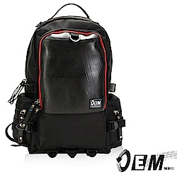 OEM- 製包工藝革命 綠色潮流 大容量後背包-紅色