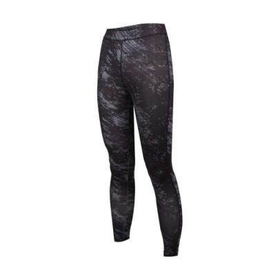 SOFO 女九分韻律褲-有氧 瑜珈 慢跑 路跑 長褲 緊身褲 黑灰