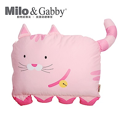 Milo&Gabby 動物好朋友-大枕頭套(NANCY貓咪)