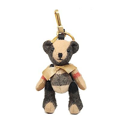 BURBERRY Thomas 泰迪熊軍旅背包造型墜飾(駝色)