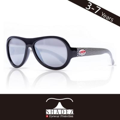 瑞士SHADEZ 兒童太陽眼鏡SHZ-21(年齡3-7)--黑色賽車