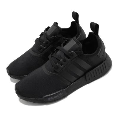 adidas 休閒鞋 NMD R1 襪套式 男鞋 海外限定 愛迪達 Boost底 緩震 穿搭 黑 FV9015