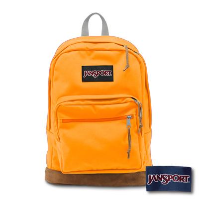 JanSport -RIGHT PACK系列後背包 -金橙色