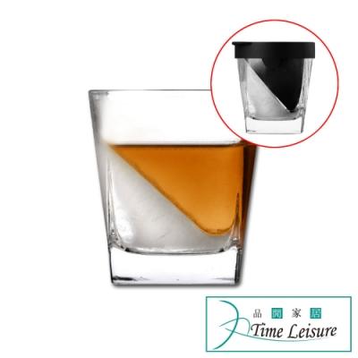 Time Leisure 洋酒玻璃杯/威士忌冰鎮杯240ml