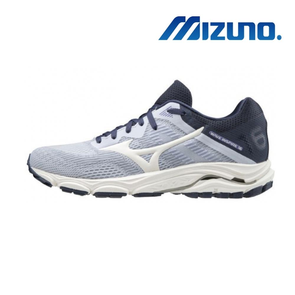 MIZUNO 美津濃 WAVE INSPIRE 16 WIDE 女慢跑鞋 J1GD204613