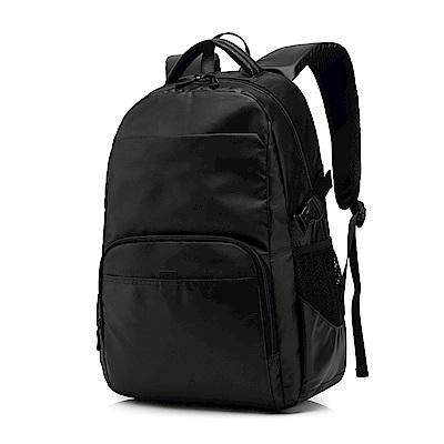 HD8826BK雙肩時尚休閒電腦包14.1吋黑色
