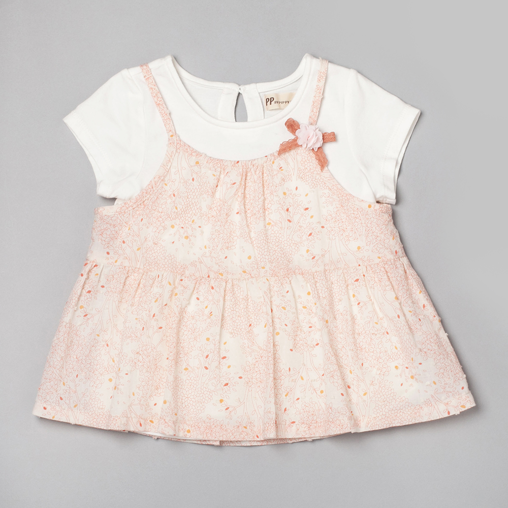 PIPPY 兩件式背心裙上衣 粉