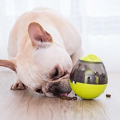狗狗不倒翁漏食球 訓練玩具 寵物慢食器