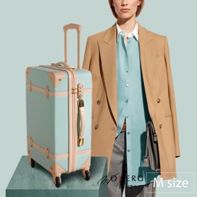 MOIERG_Traveler下一站,海角天涯ABS YKK trunk (M-20吋) Sky Blue