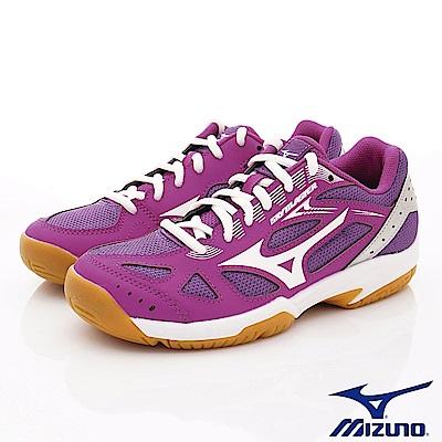 Mizuno美津濃-SKY BLASTER羽球鞋-194567紫白(女段)