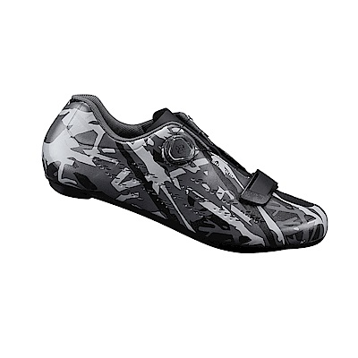 【SHIMANO】RP5 男性公路車性能型車鞋 迷彩灰色