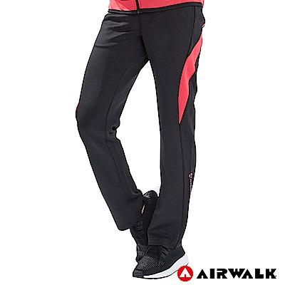 【AIRWALK】女款POLY針織長褲-共兩色