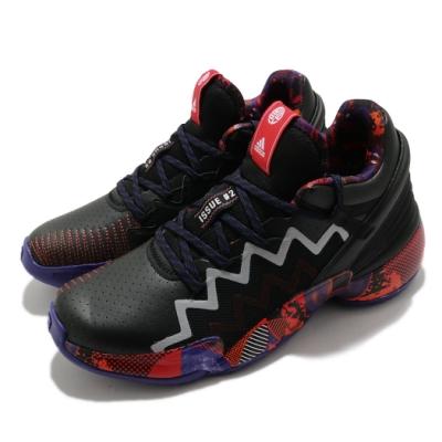 adidas 籃球鞋 DON Issue 2 GCA 男鞋 愛迪達 Mitchell NBA球星 黑 彩 G55791