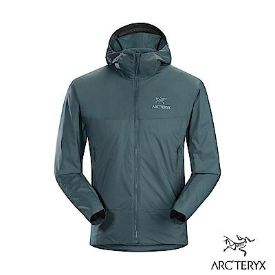 Arcteryx 始祖鳥 男 Atom SL 化纖保暖連帽外套 海王星