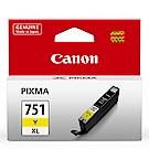 CANON CLI-751XL-Y 原廠黃色高容量XL墨水匣