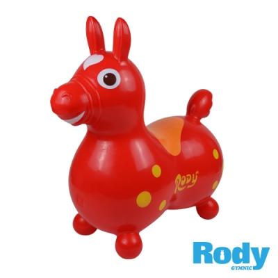 RODY跳跳馬-紅色(義大利原裝進口~寶寶騎乘玩具)