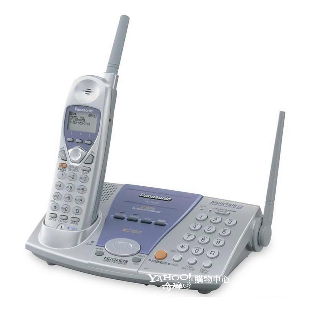 Panasonic 2.4GHz 雙撥號長距離數位無線電話 KX-TG2700S