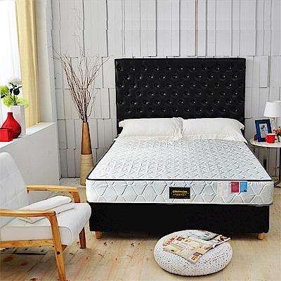 Ally愛麗 正反可睡-3M防潑水抗菌蜂巢獨立筒床墊-雙人加大6尺-本月限定