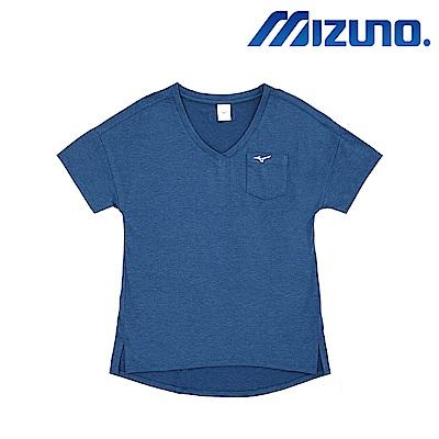 MIZUNO 美津濃 1906 女短袖T恤 藍 D2TA820421
