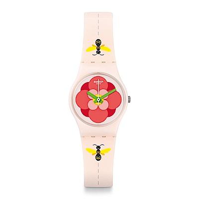 Swatch 原創系列 FLOWER JUNGLE手錶-25mm