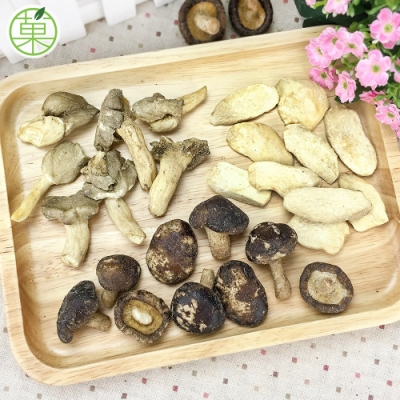 菓青市集 綜合菇菇脆片60g