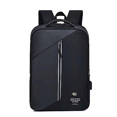 DRAKA 達卡 - 漫步城市系列-筆電後背包-黑