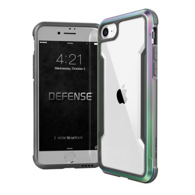 DEFENSE 刀鋒極盾II iPhone SE 2020/SE2 耐撞擊防摔手機殼(繽紛虹)